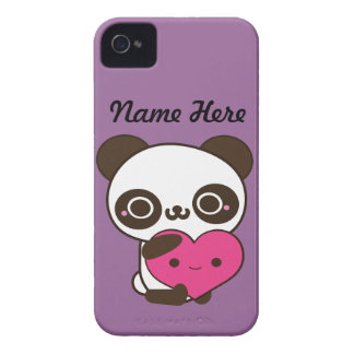 Panda Heart iPhone 4 Case