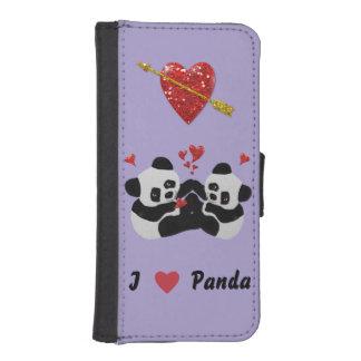 Panda Hearts Phone Wallet