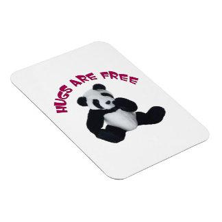 Panda hug Premium Magnet (2) sizes