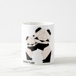 Panda Hugs colour changing mug
