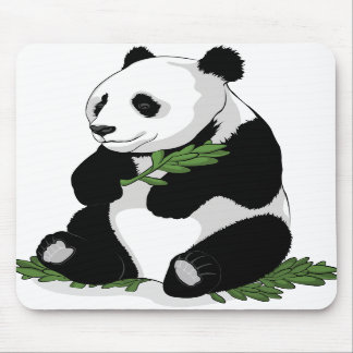 Panda Illustration Mousepad