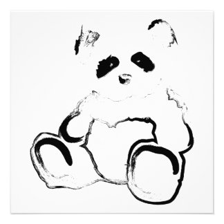 panda ink custom invite