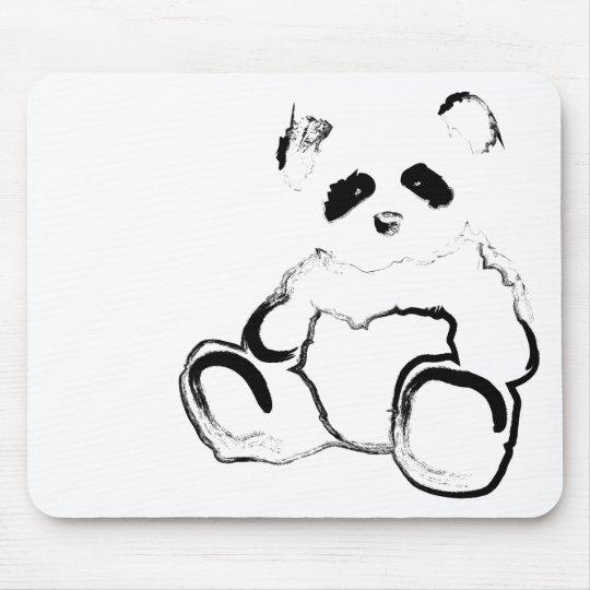 panda ink mouse pad