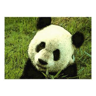 Panda Invitation