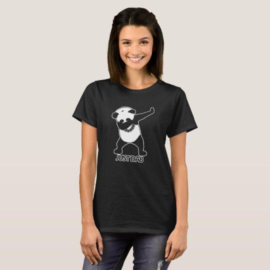 Panda Just Dab Funny T-Shirt