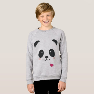 panda kid sweatshirt