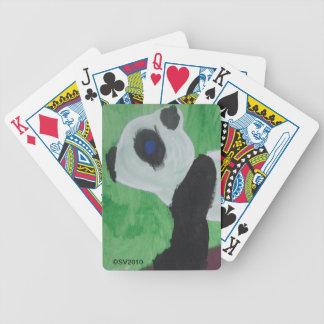 Panda Kids Art Playing Cards