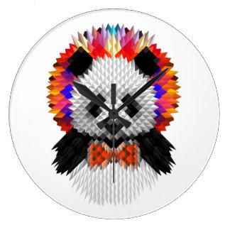 Panda Large Clock