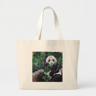 PANDA LARGE TOTE BAG