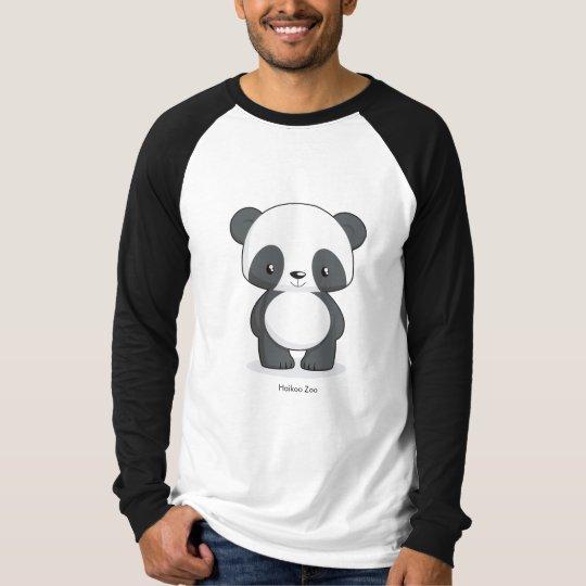 Panda Long-sleeve Men's T-shirt