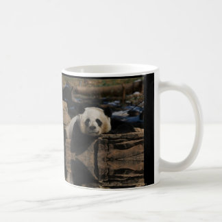 Panda lounging coffee mug