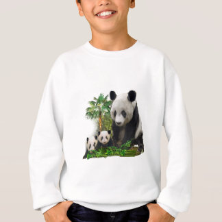 Panda Love art Sweatshirt