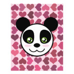 """Panda Love"" Flyer Design"