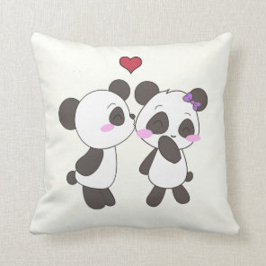 Panda Love Pillows! <3 Cushion
