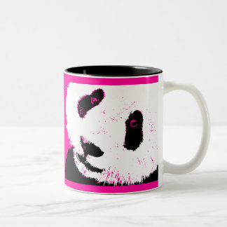 panda love. Two-Tone coffee mug