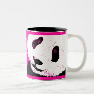 panda love. Two-Tone mug