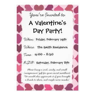 Panda Love Valentine s Girls Invitation