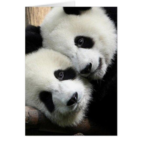 Panda Love Valentine's Day Card