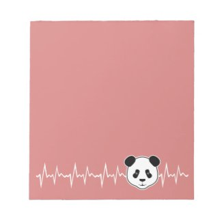 Panda Lover Notepad