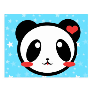 Panda Luv Postcards