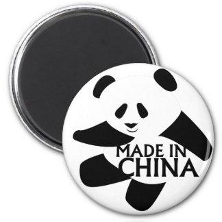 Panda, Made in China 6 Cm Round Magnet