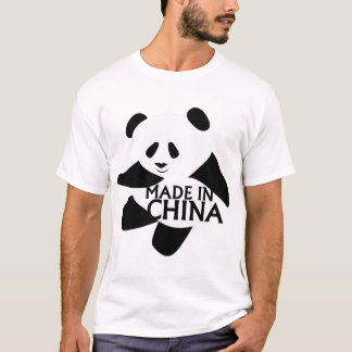 Panda, Made in China T-Shirt