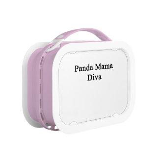 Panda Mama Diva Lunchbox