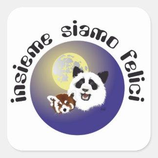 Panda meeting sticker