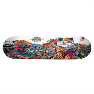 Panda-Moanium - Street Art Sk8 Deck Custom Skate Board