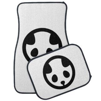 Panda mon car mat