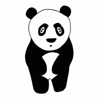 Panda-monium Photo Sculpture Decoration