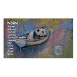 Panda Moon Pack Of Standard Business Cards