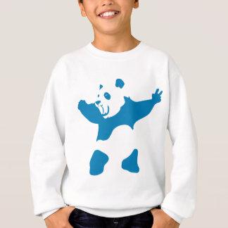Panda Neon Blue Sweatshirt