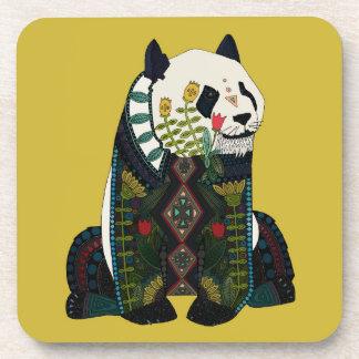 panda ochre coaster
