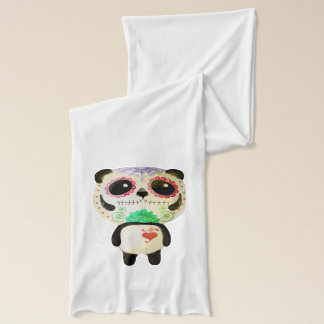 Panda of The Day of The Dead Scarf