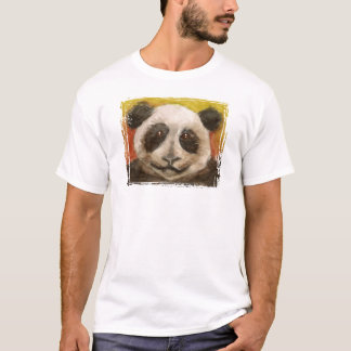 Panda on Black for Kids T-Shirt