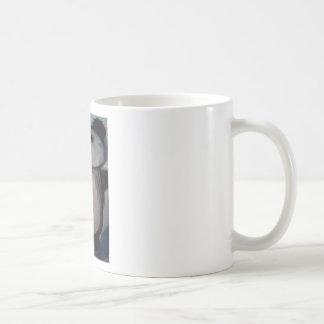 Panda on watercolour mugs