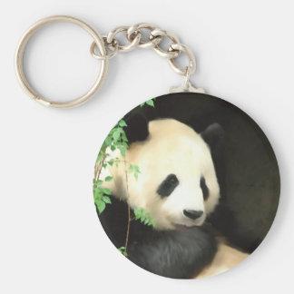 Panda Painting Keychain