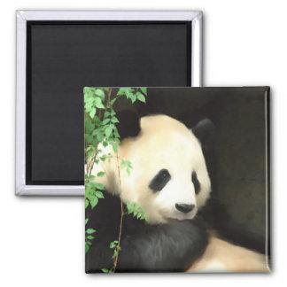 Panda Painting Magnet
