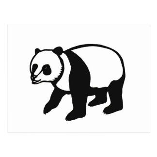 Panda PANDA cutting picture Postcards