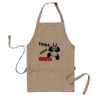 Panda Panda Wants BBQ Apron