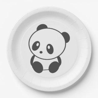 Panda paper plates 9 inch paper plate