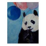 Panda Party Postcard