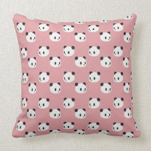 Panda pattern cushion