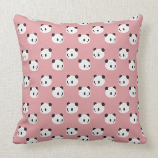 Panda pattern cushion