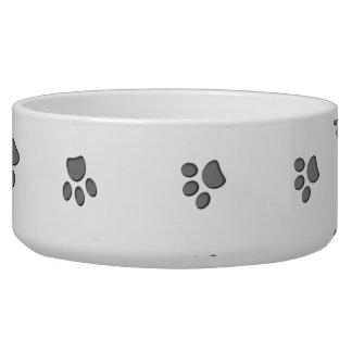 Panda Paws Dog Water Bowl