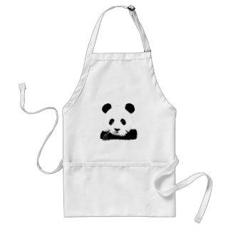 Panda Peeks Out Standard Apron