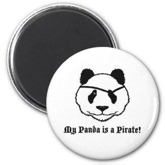 Panda Pirate Refrigerator Magnet