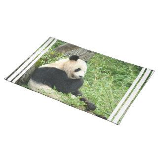 Panda  Placemat Cloth Place Mat