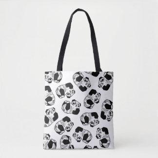 Panda Play All-Over-Print Tote Bag
